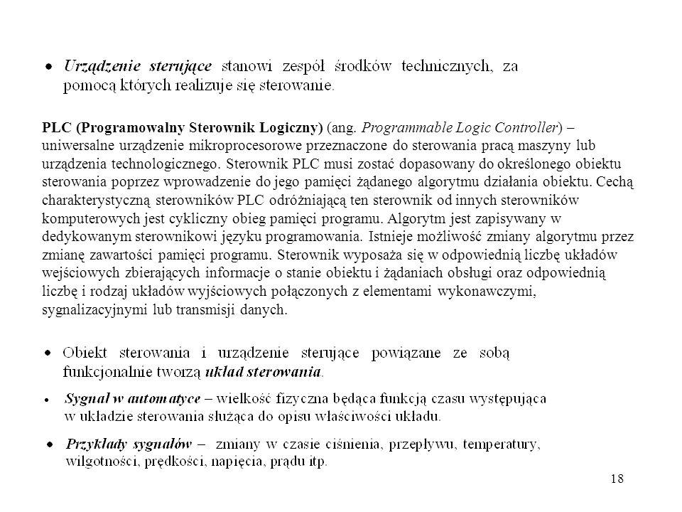 PLC (Programowalny Sterownik Logiczny) (ang