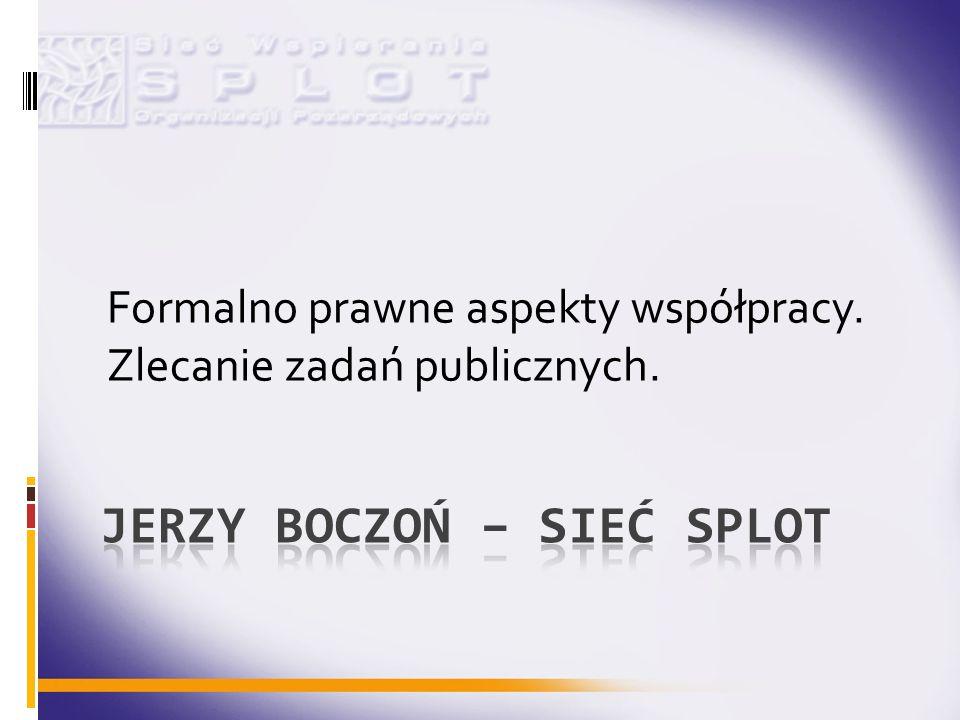Jerzy Boczoń – Sieć SPLOT