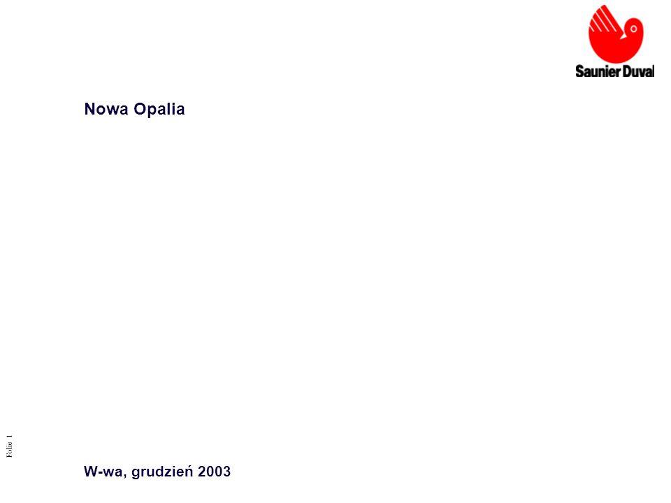 Nowa Opalia W-wa, grudzień 2003 Folie 1