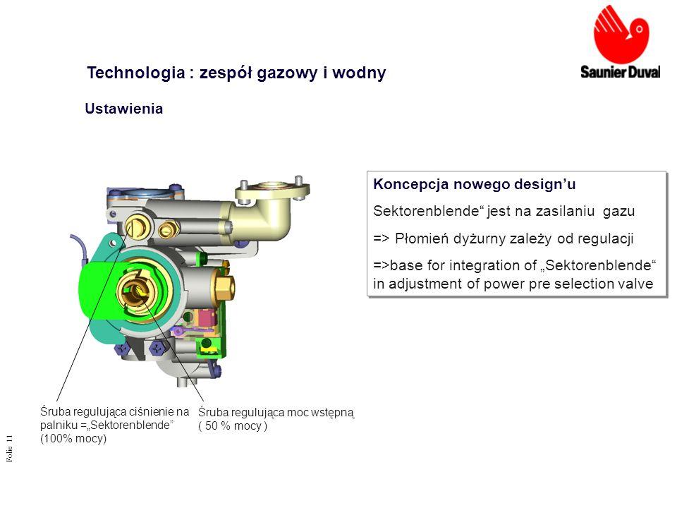 Technologia : zespół gazowy i wodny