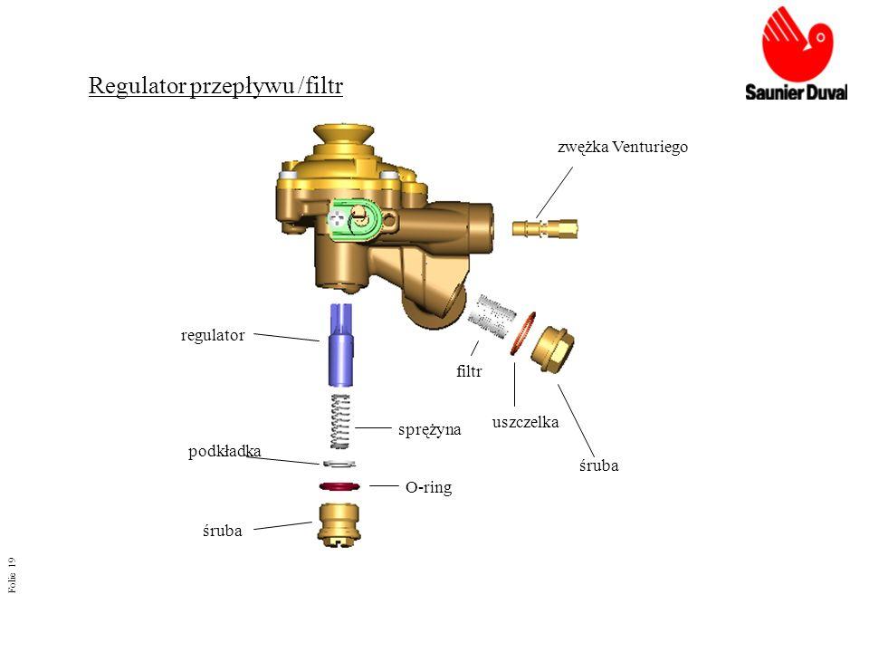 Regulator przepływu /filtr