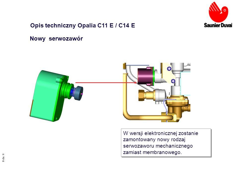 Opis techniczny Opalia C11 E / C14 E