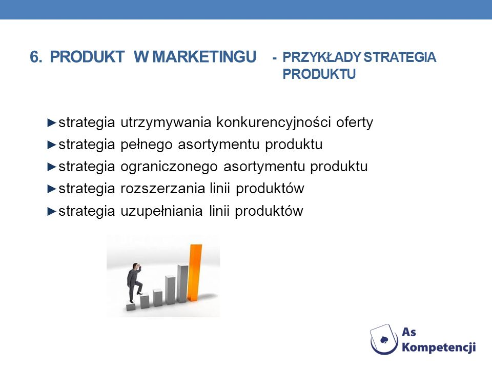 6. PRODUKT w marketingu - przykłady strategia produktu