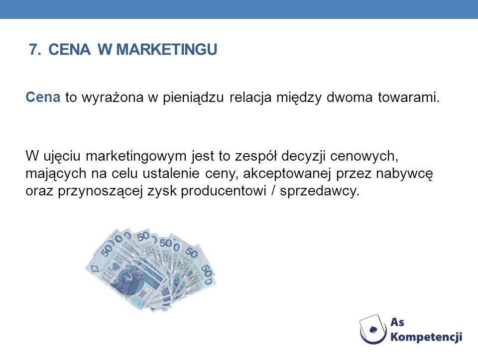 7. cena w marketingu