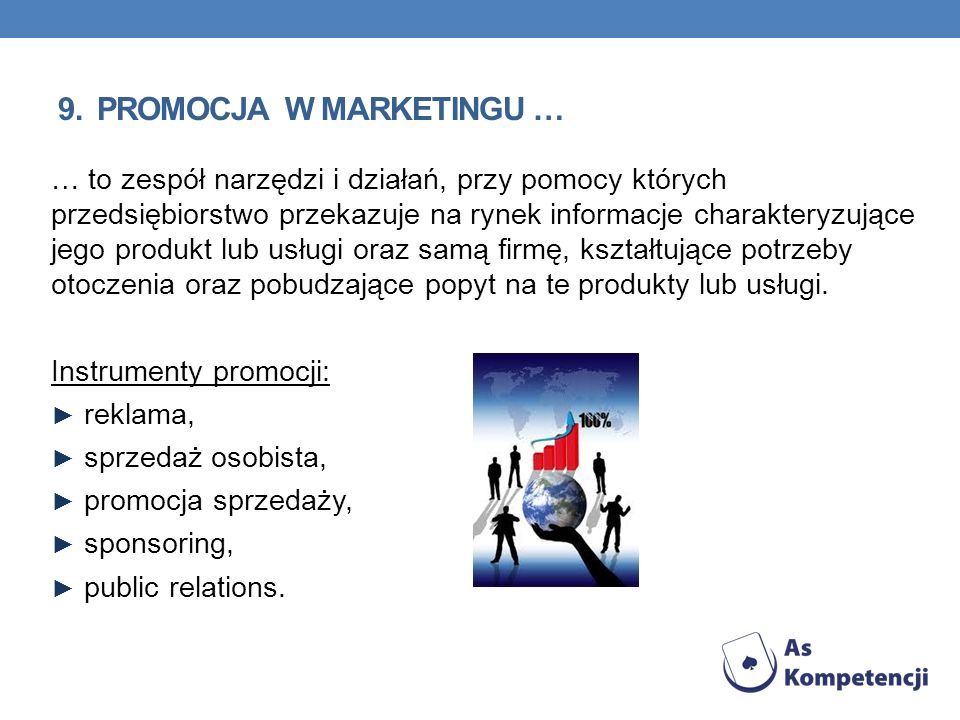 9. promocja w marketingu …