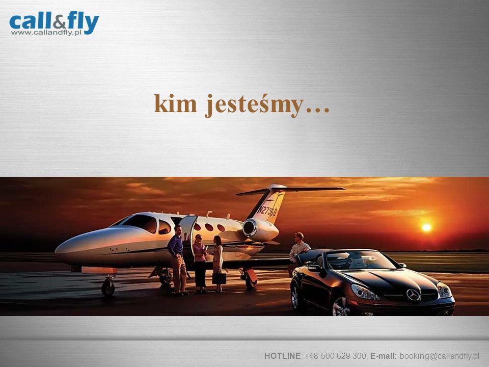 kim jesteśmy… Call & Fly to część Max Berger Aviation obecna od 2007
