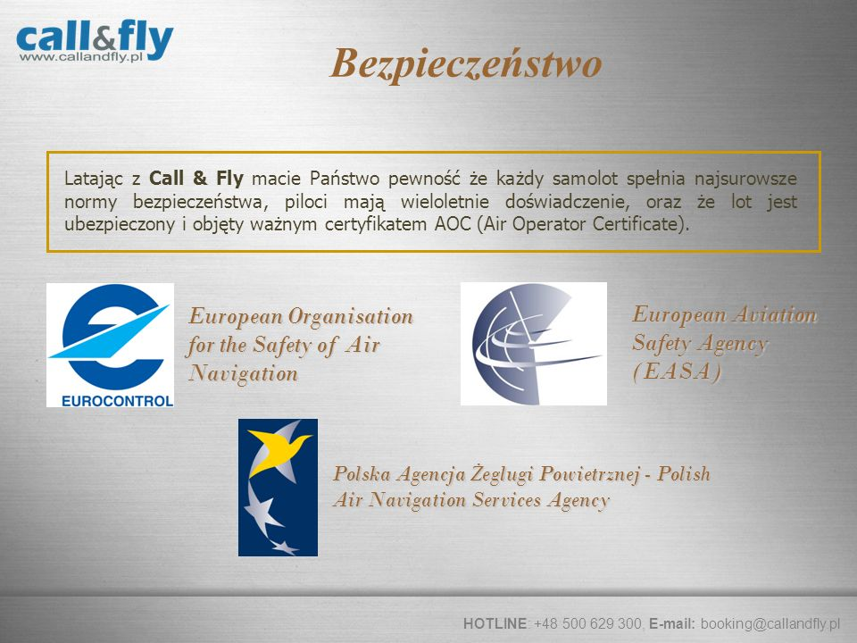 Bezpieczeństwo European Organisation for the Safety of Air Navigation