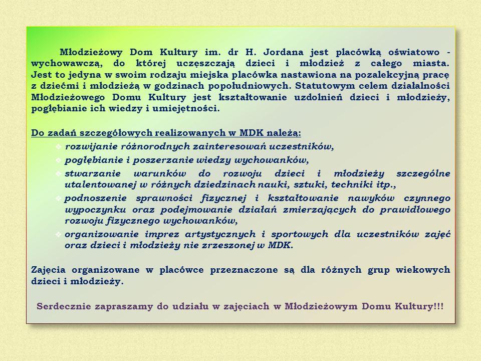 Młodzieżowy Dom Kultury im. dr H