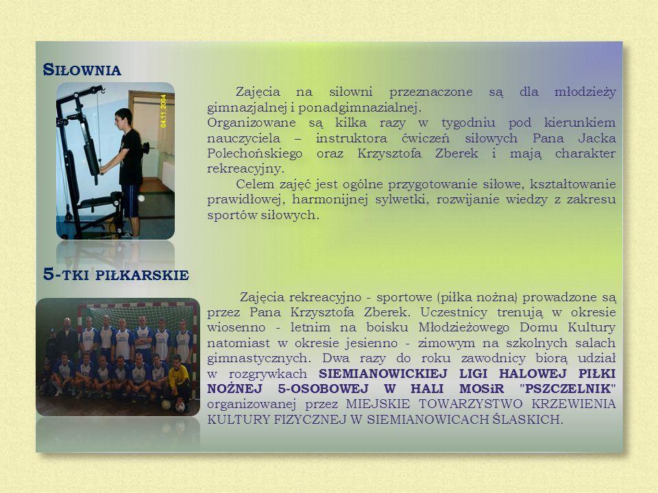 Siłownia 5-tki piłkarskie