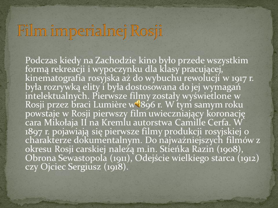 Film imperialnej Rosji
