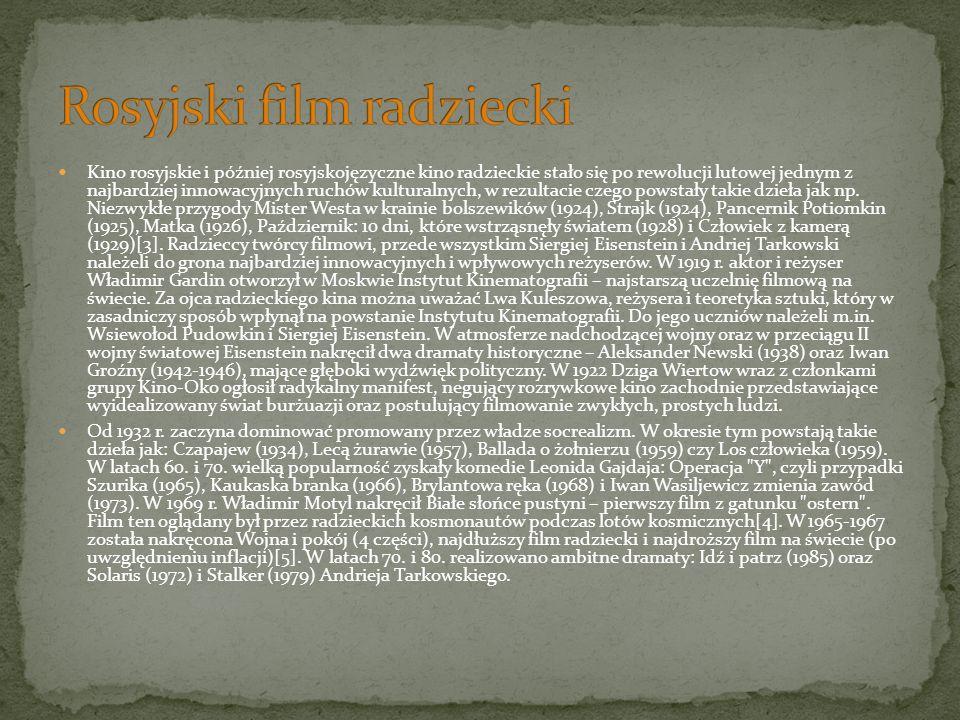 Rosyjski film radziecki