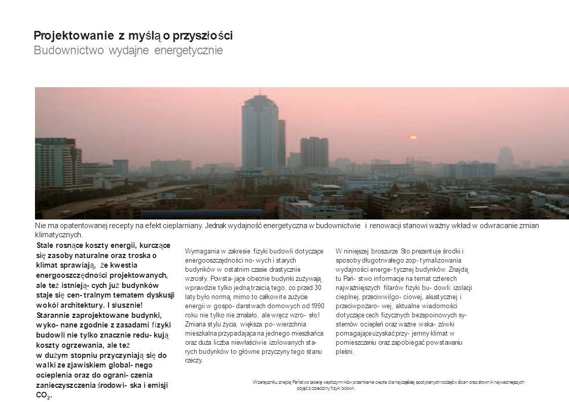 Projektowanie z myślą o przyszłości Budownictwo wydajne energetycznie