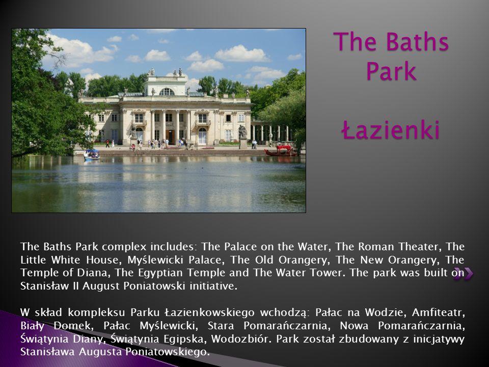 The Baths Park Łazienki