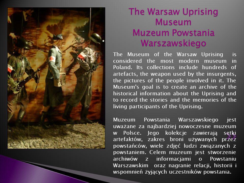 The Warsaw Uprising Museum Muzeum Powstania Warszawskiego