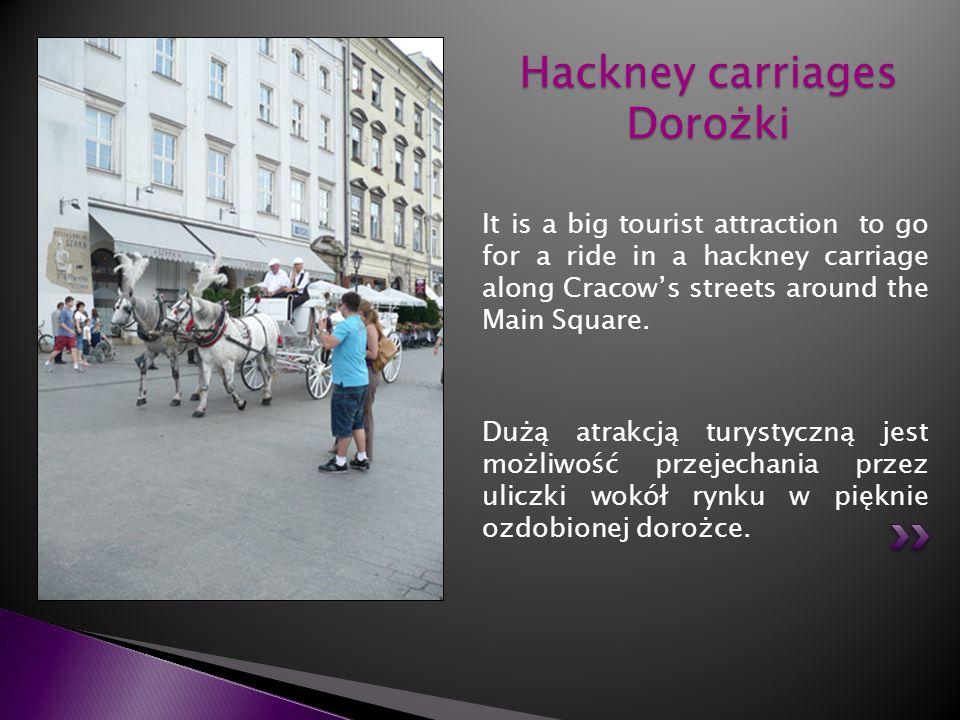 Hackney carriages Dorożki