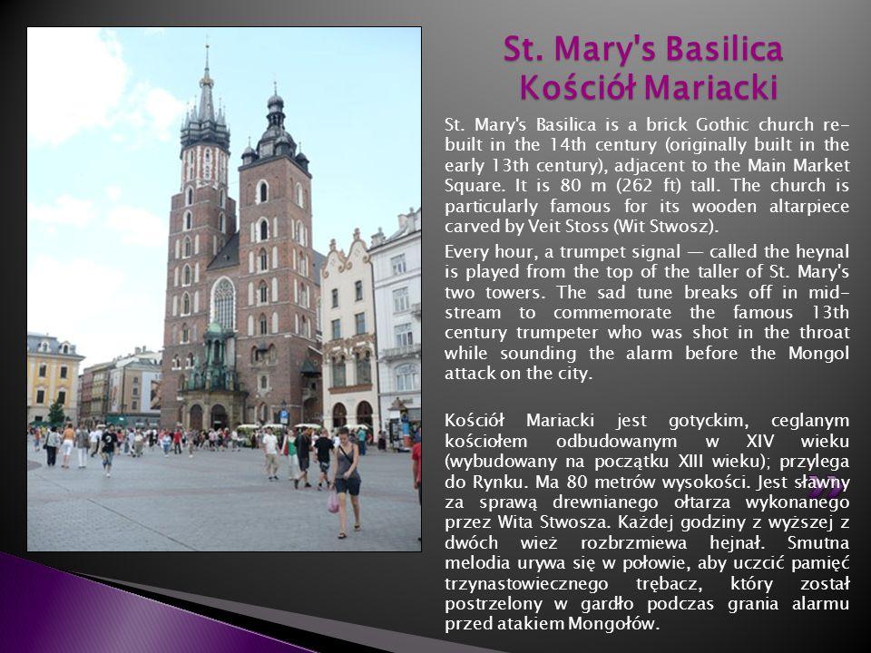 St. Mary s Basilica Kościół Mariacki