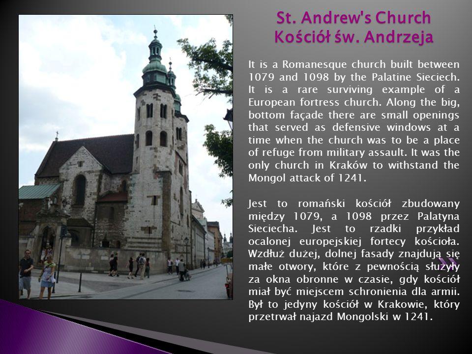 St. Andrew s Church Kościół św. Andrzeja
