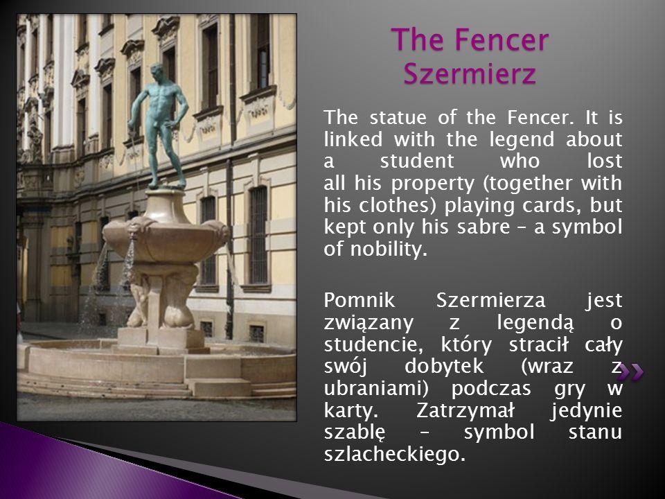 The Fencer Szermierz