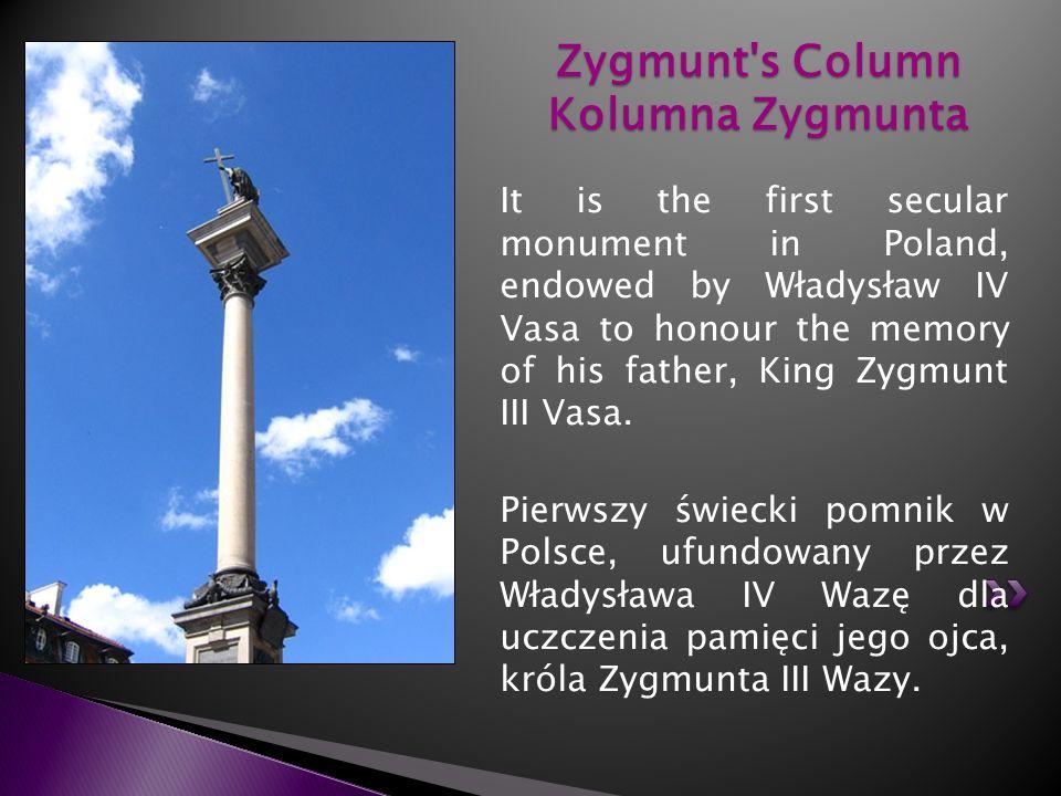 Zygmunt s Column Kolumna Zygmunta