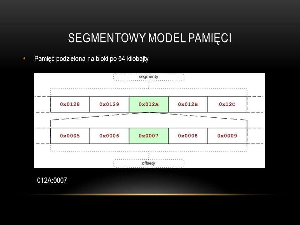 Segmentowy Model Pamięci