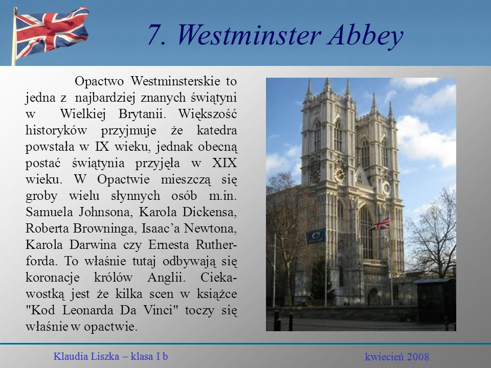 7. Westminster Abbey