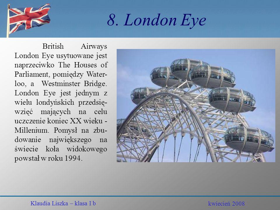 8. London Eye