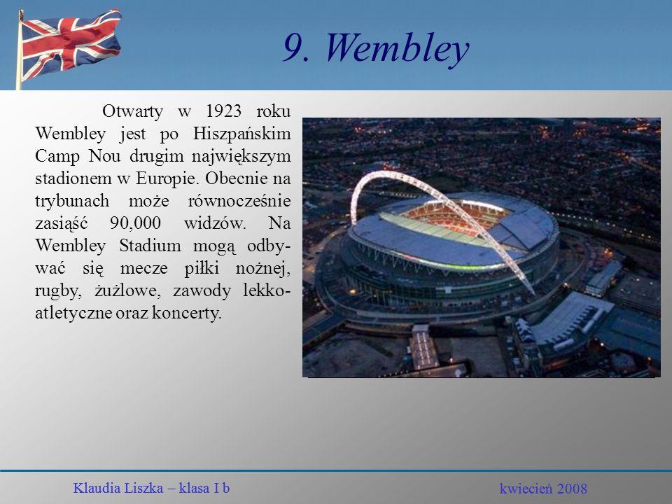 9. Wembley