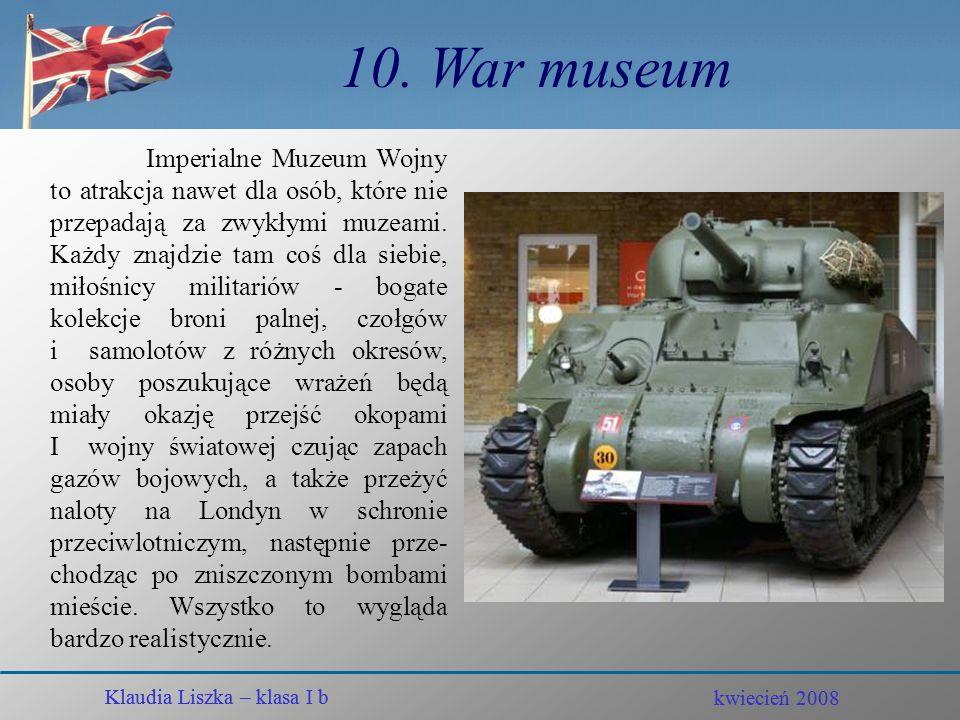 10. War museum
