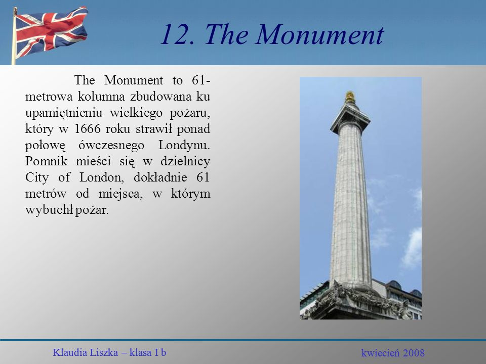12. The Monument
