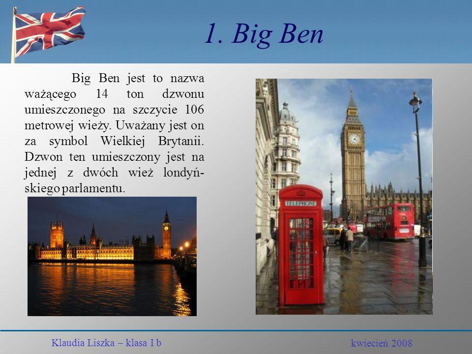 1. Big Ben