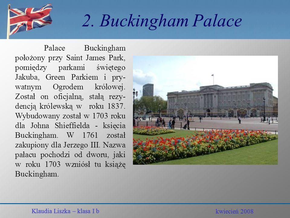 2. Buckingham Palace