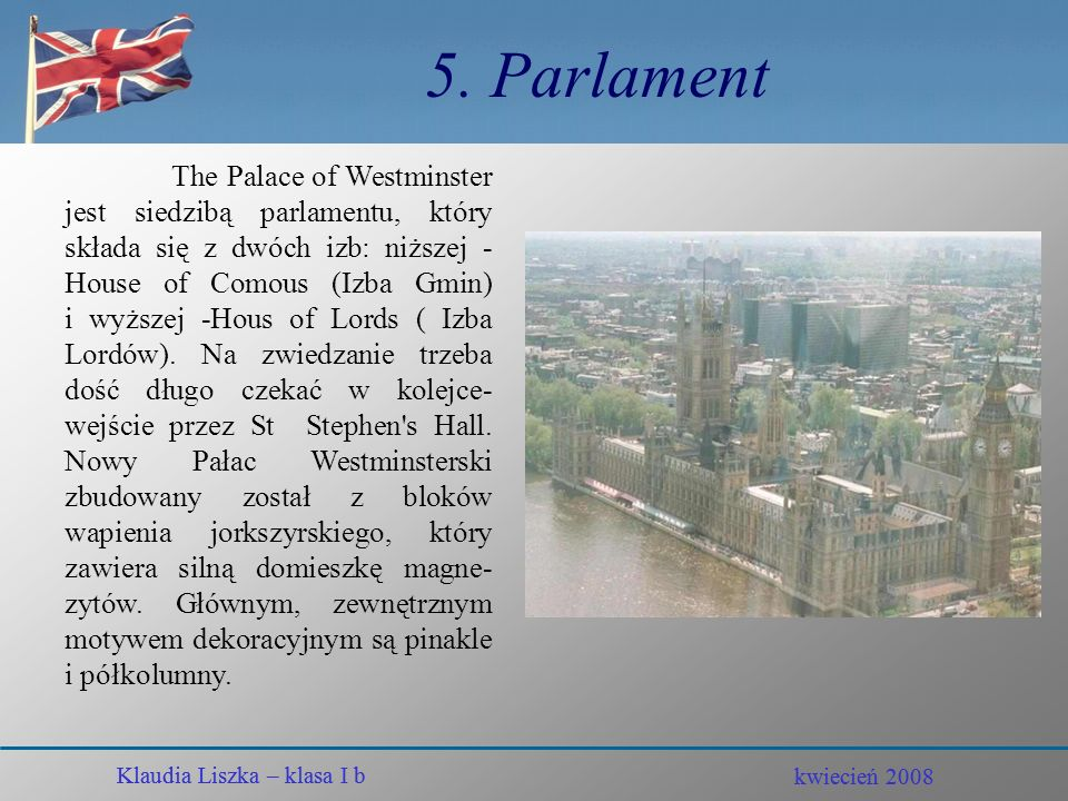 5. Parlament