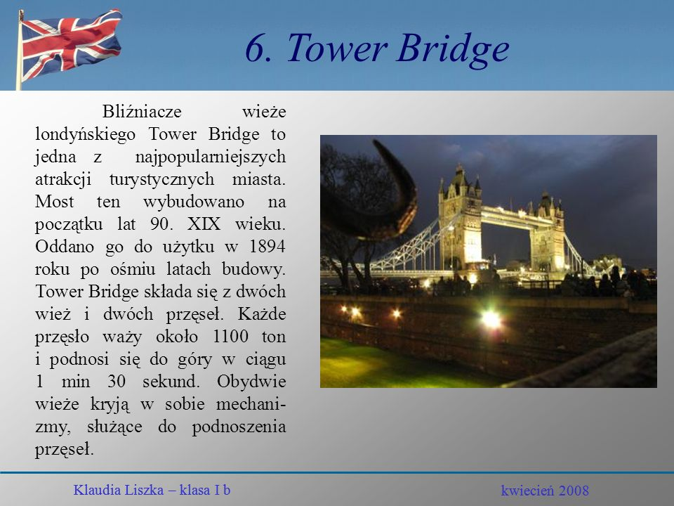 6. Tower Bridge