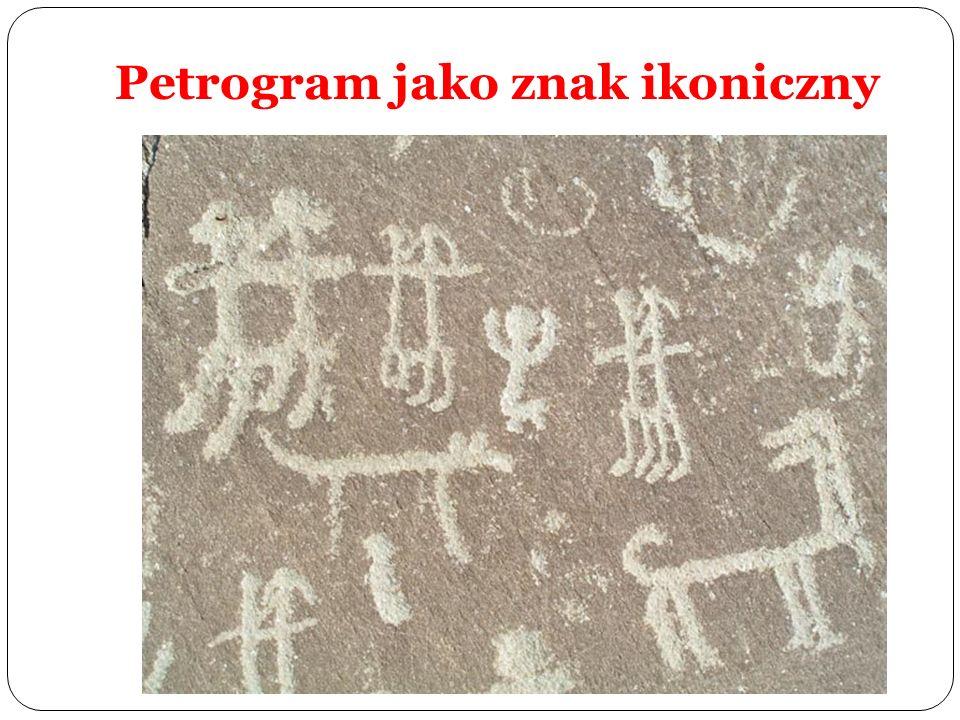 Petrogram jako znak ikoniczny