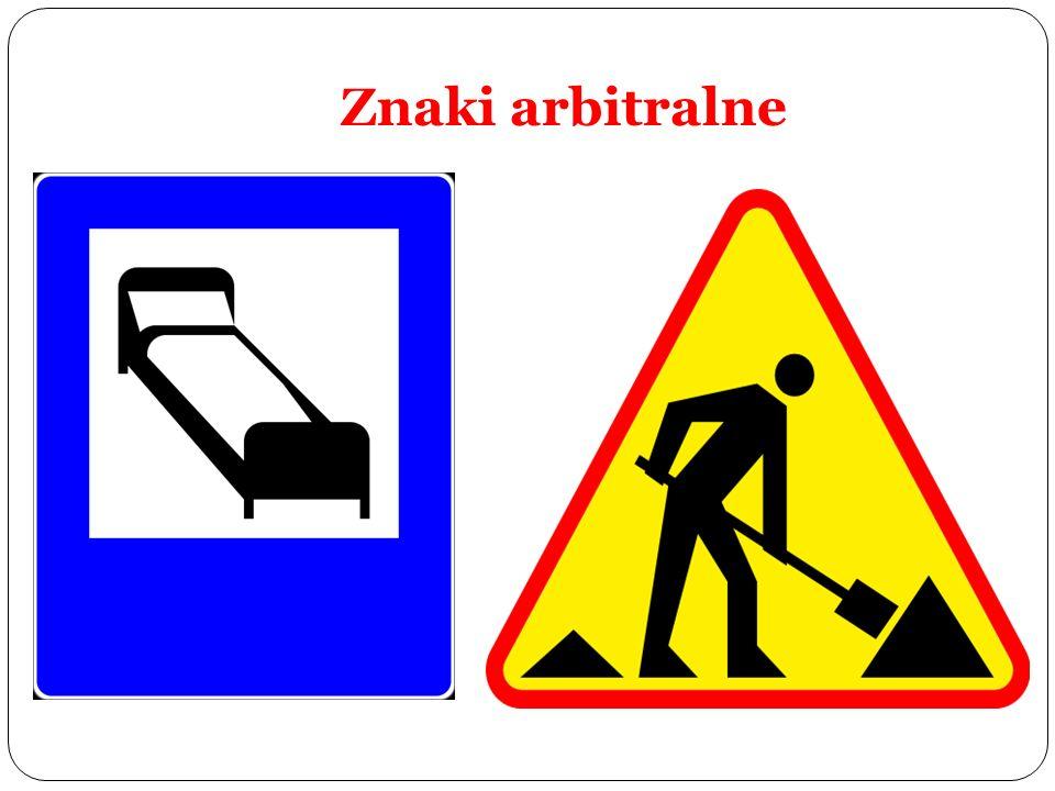 Znaki arbitralne