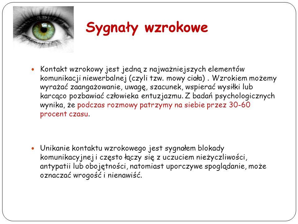 Sygnały wzrokowe