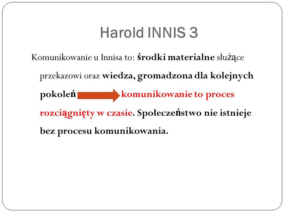 Harold INNIS 3