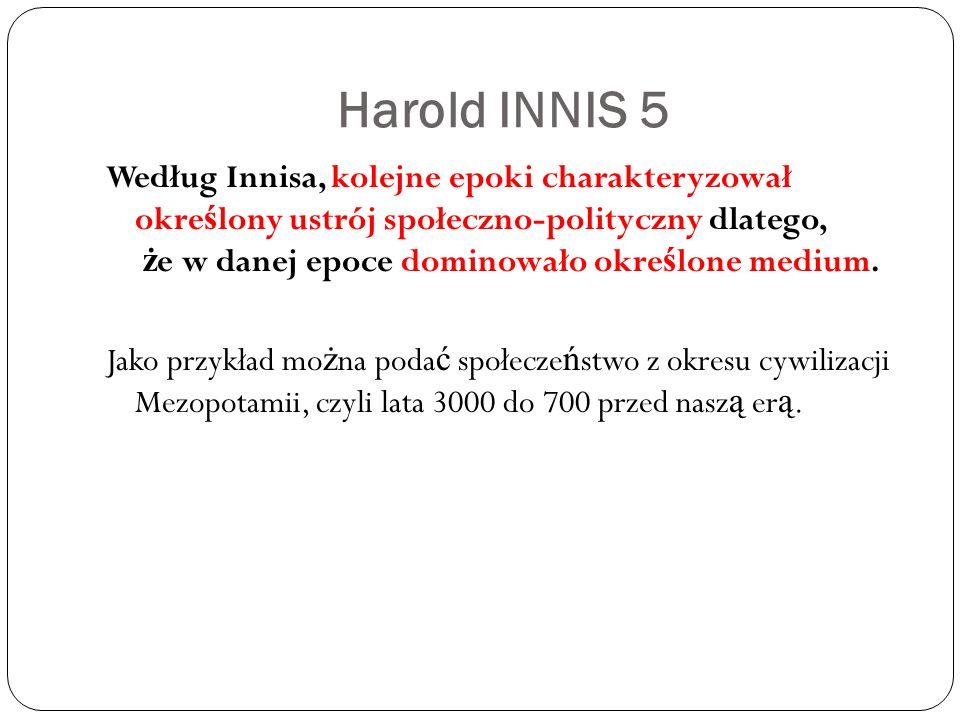 Harold INNIS 5