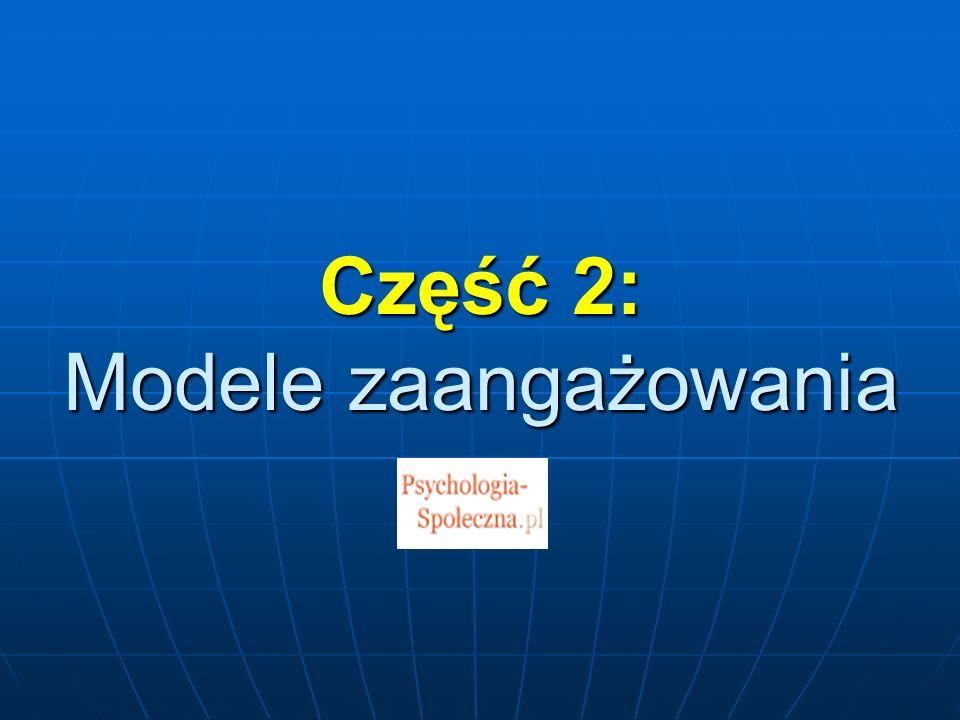 Część 2: Modele zaangażowania