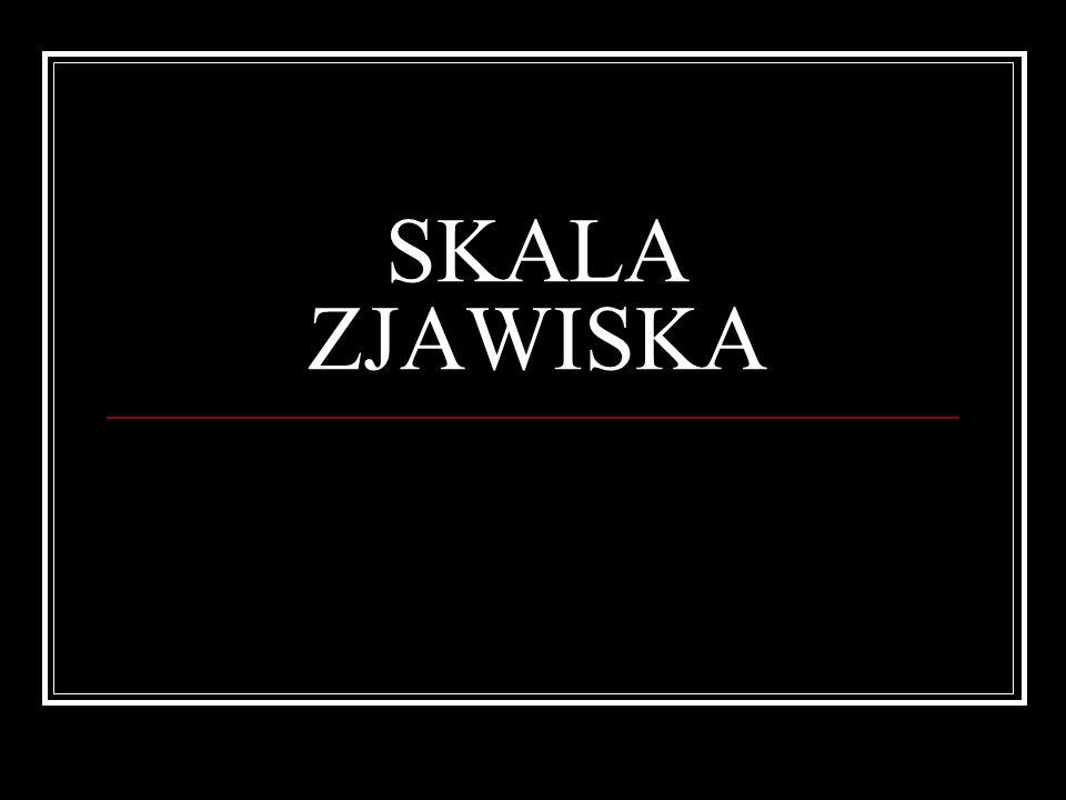 SKALA ZJAWISKA