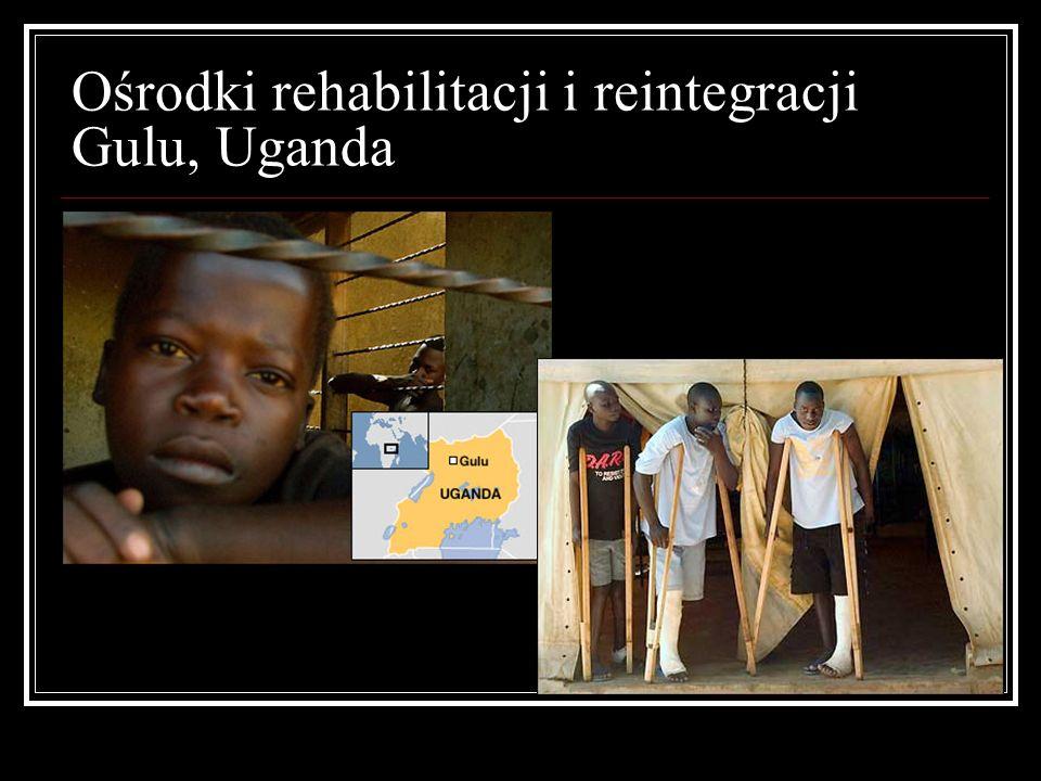 Ośrodki rehabilitacji i reintegracji Gulu, Uganda
