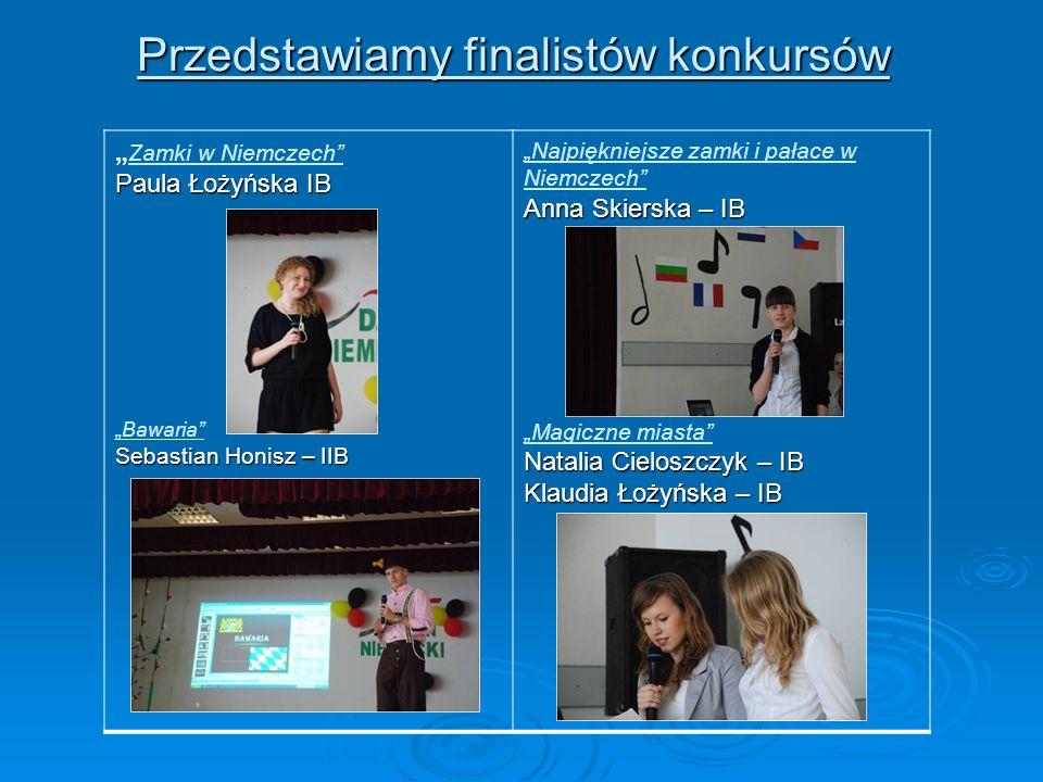 Przedstawiamy finalistów konkursów