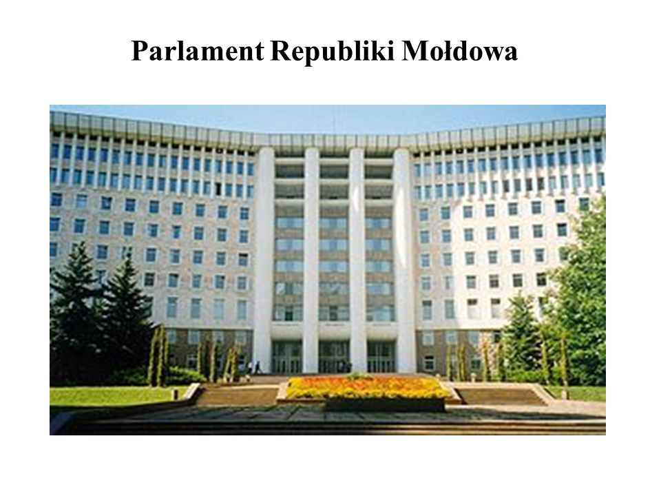 Parlament Republiki Mołdowa