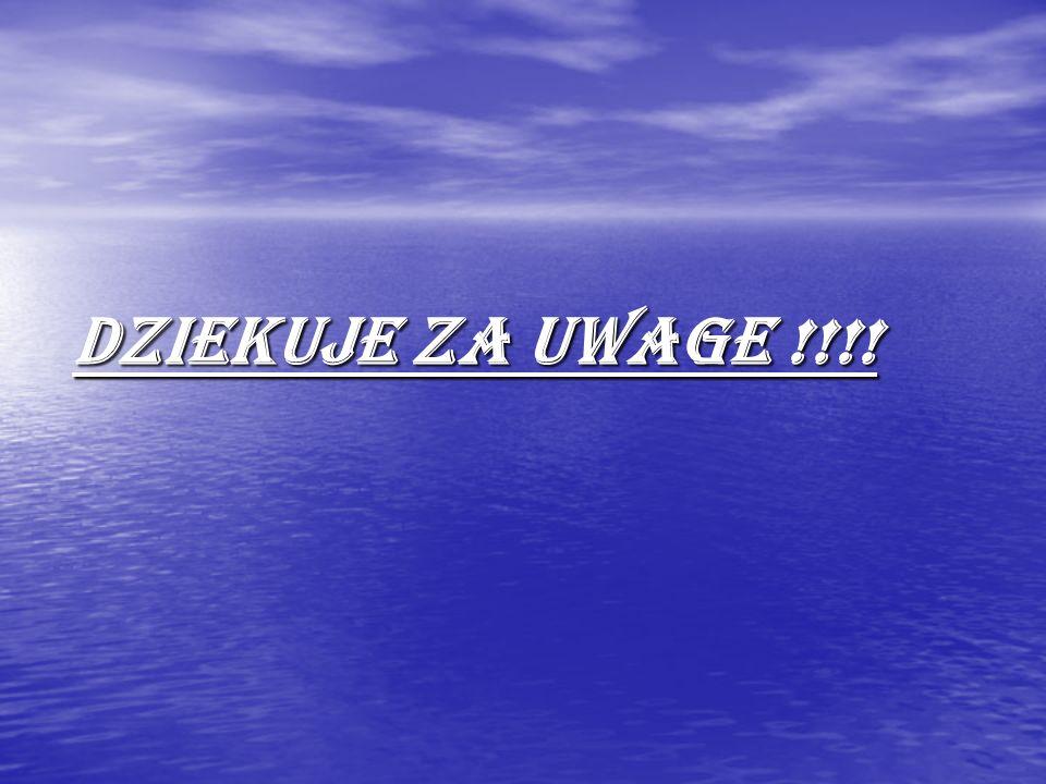 DZIEKUJE ZA UWAGE !!!!