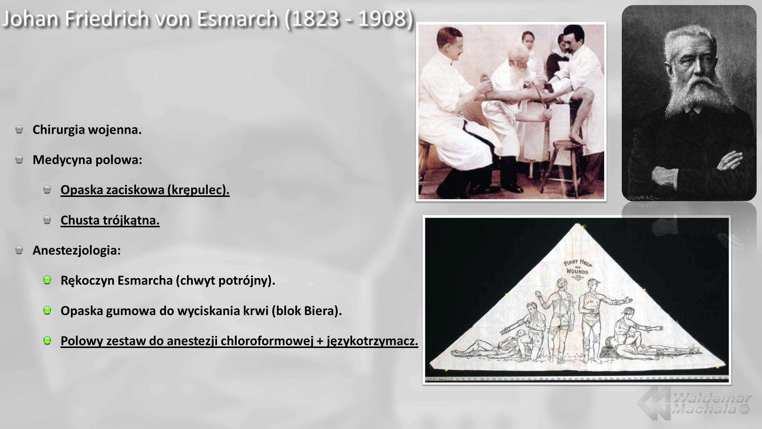 Johan Friedrich von Esmarch (1823 - 1908)