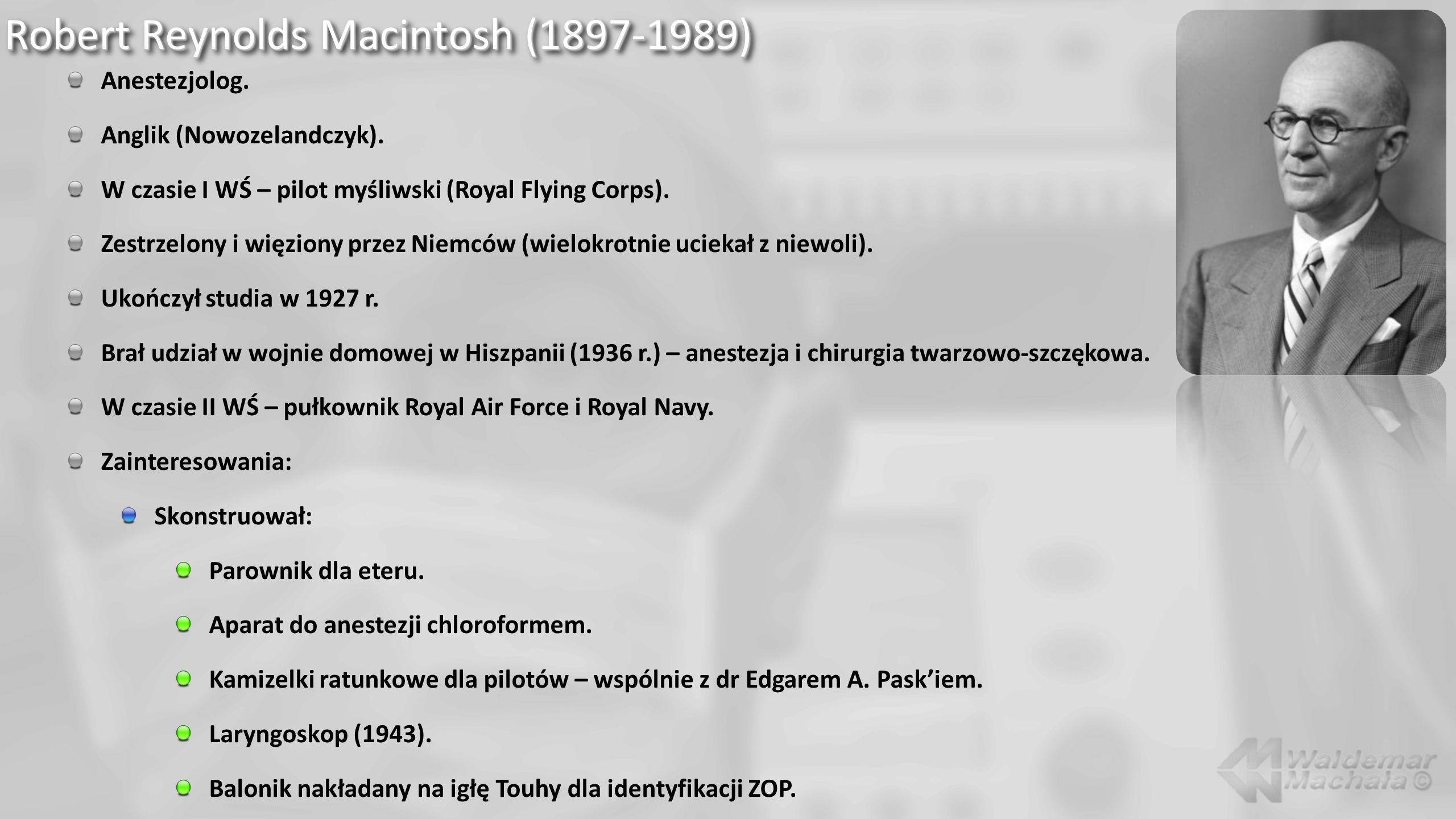 Robert Reynolds Macintosh (1897-1989)