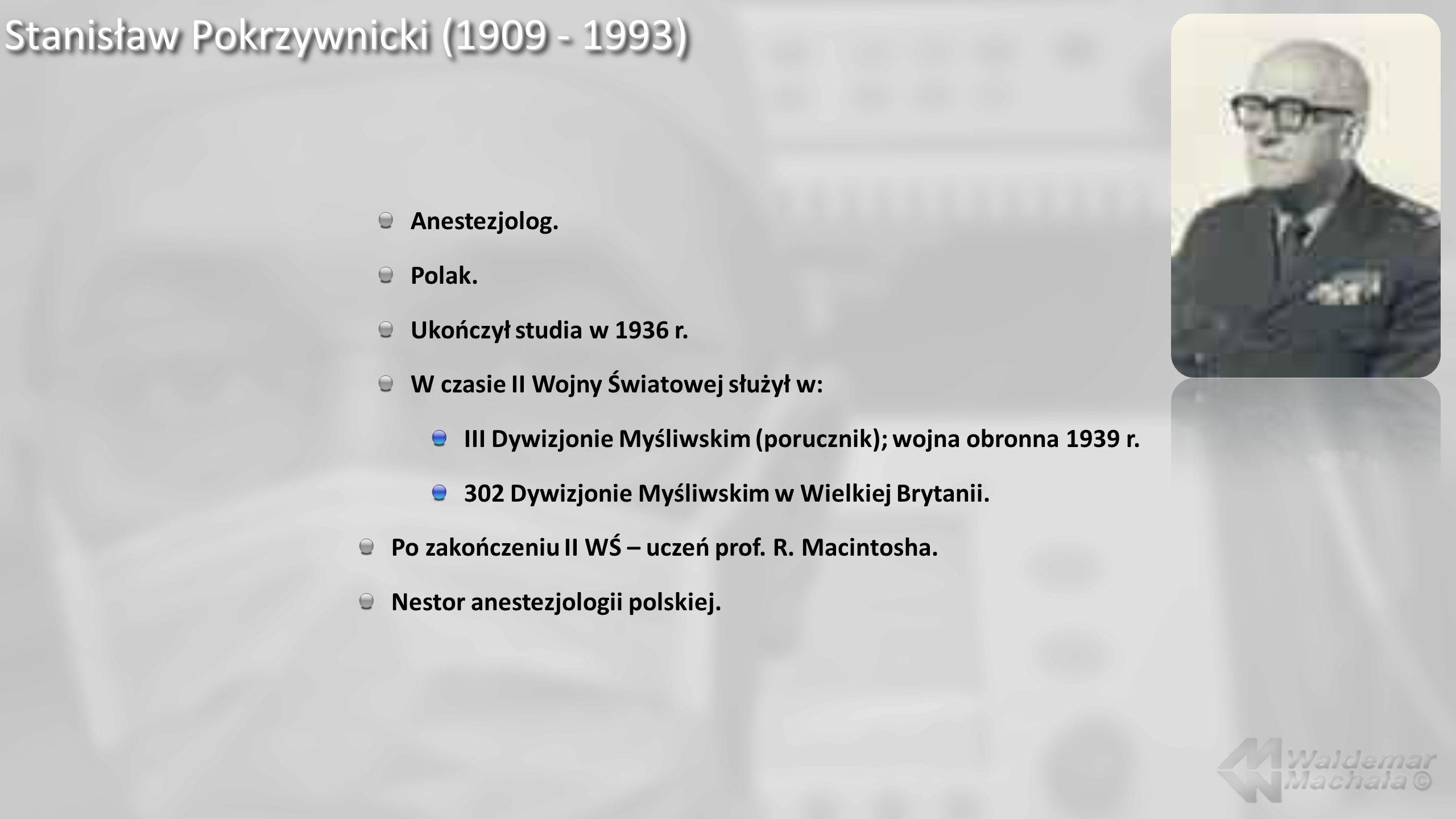 Stanisław Pokrzywnicki (1909 - 1993)