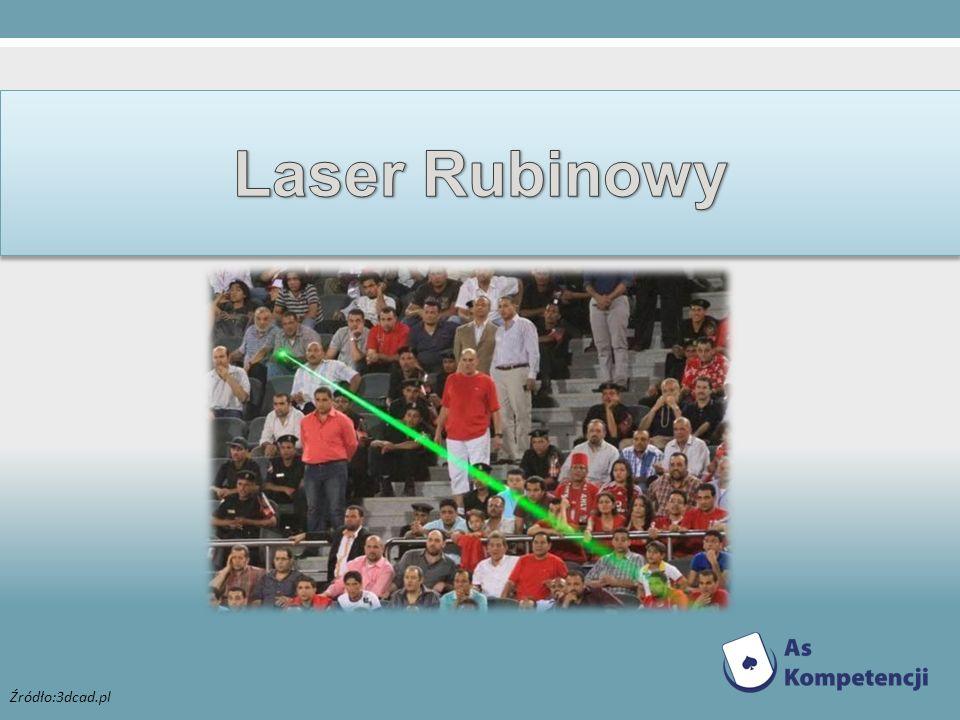 Laser Rubinowy Źródło:3dcad.pl