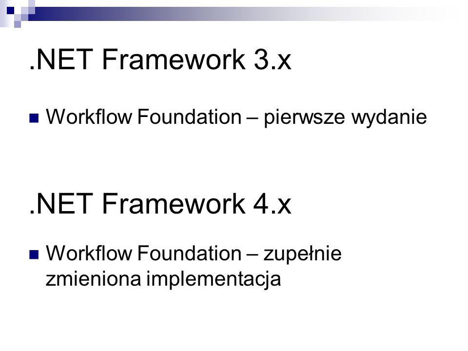 .NET Framework 3.x .NET Framework 4.x