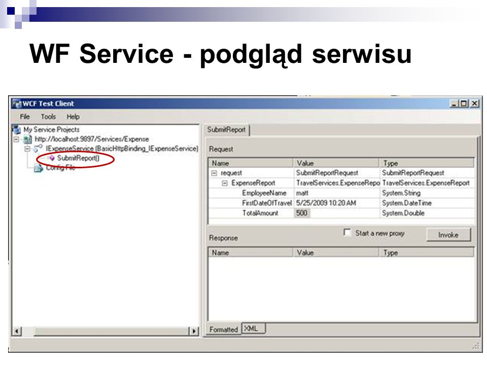 WF Service - podgląd serwisu